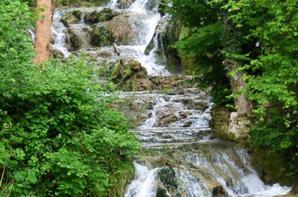 Cascade de Muret le château, juin 2021