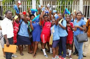 Training on Menstrual Hygiene in Douala