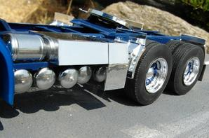 Star Truck Svempas,création des pièces chromées...