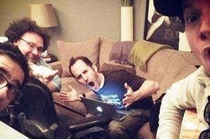Pierre&Chuck au travail pour le nouveau EP