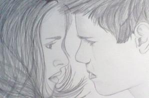 3 Dessins sur les personnages de Twilight (Made By Me)
