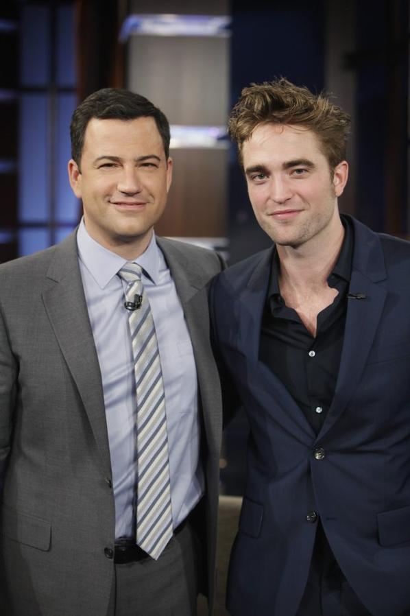 Rob au Jimmy Kimmel