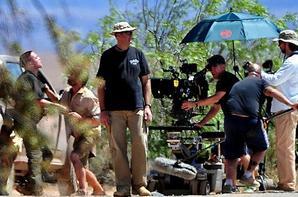 """Les première photos de Rob sur le tournage de """"The Rover"""""""