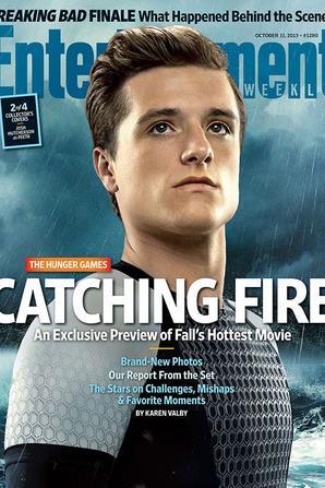 """4 couvertures différentes pour le magasine """"Entertainment Weekly"""""""