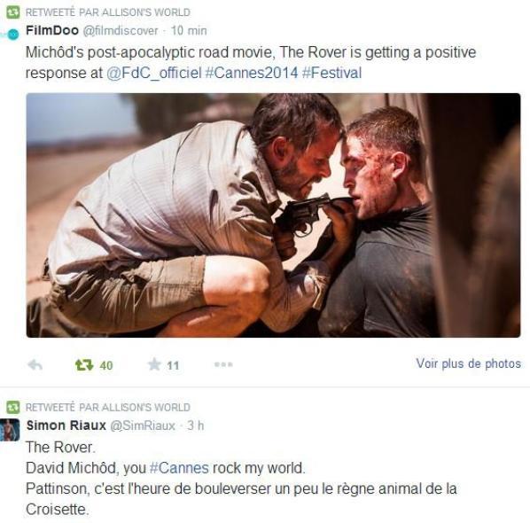 Les premières critiques pour The Rover sont très positives