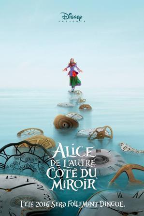 #OFFICIEL: Alice de l'autre côté du miroir sort en été 2016 ! OMG !