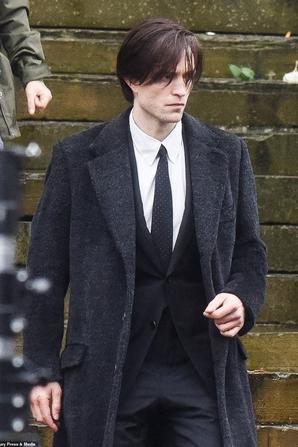 #Cinéma: Photos de Robert Pattinson sur le tournage de The Batman