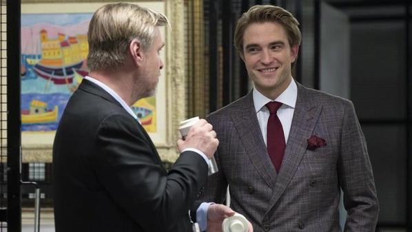 #Cinéma: Behind the Scenes Tenet de Christopher Nolan et avec Robert Pattinson.