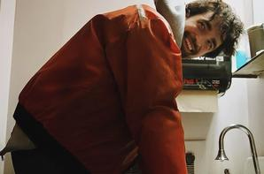 Robert Pattinson behind the scenes of Good Time