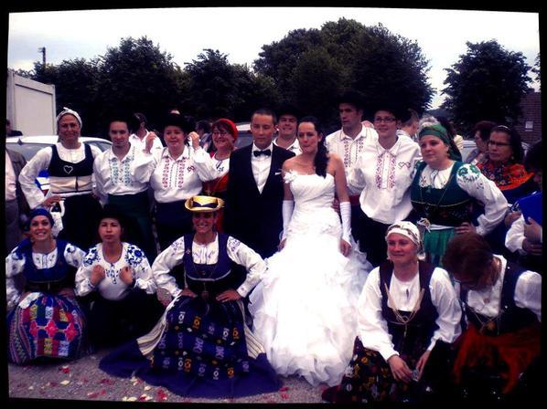 Mariage à Chaumot du 15.06.13