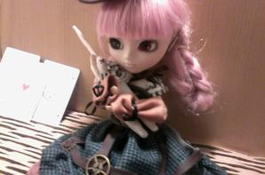 nouvelle tenue de ma pullip tenue steam punk