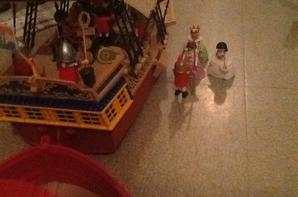 Visite de la Princesse à la Marine