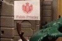 Vu extérieur du palais princier