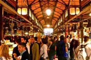 mercado de san miguel madrid españa