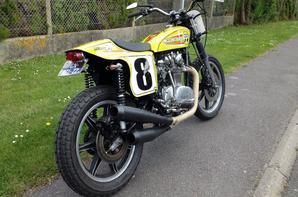 YAMAHA 650 XS DIRT TRACKER MOON TRIBUTE