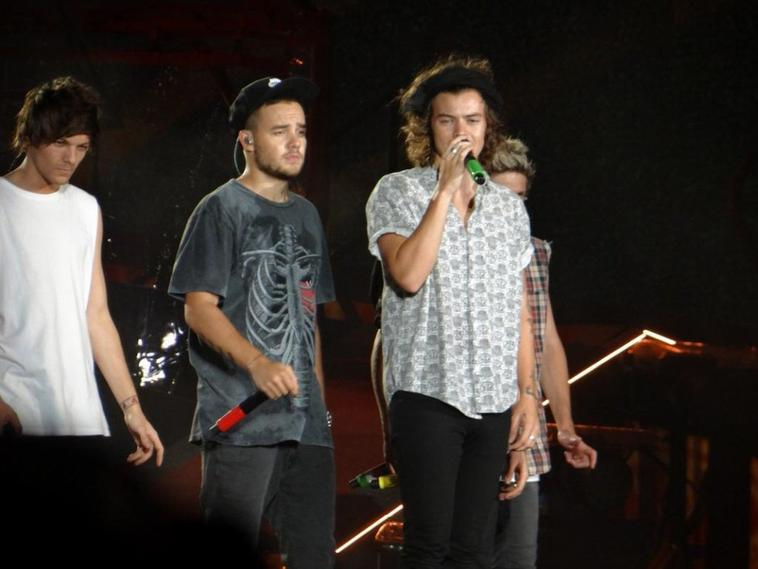 Les boys sur scène à Philadelphie le 14/08/14 (2)