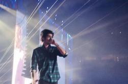 Zayn sur scène à Houston le 22/08/14 (2)