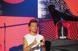 Louis sur scène à Houston le 22/08/14