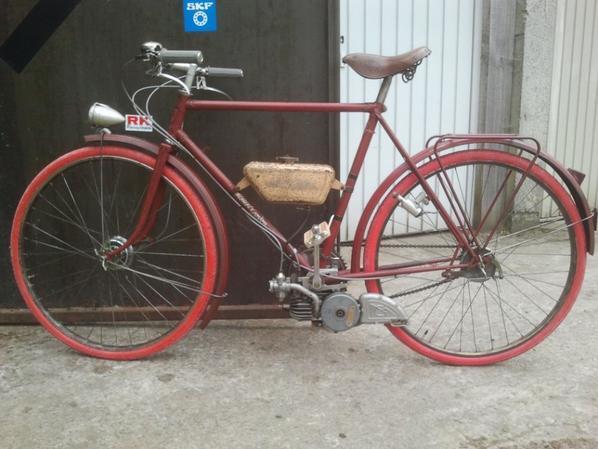 Vélo Monet Goyon avec moteur Motorox