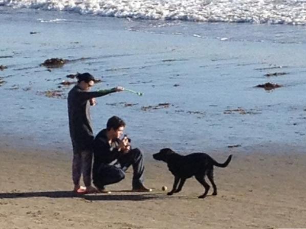 24/12/2012 : Kathon à la plage ♥