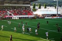 La  saison de rugby démarre bien pour Oyonnax....