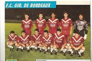 Maillot Porté GAETAN HUARD Girondins de BORDEAUX