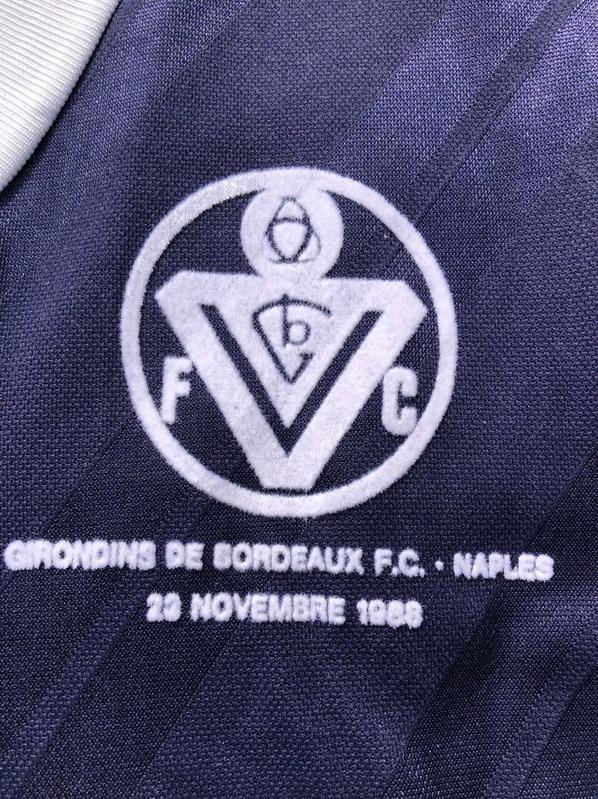 Maillot GIRONDINS DE BORDEAUX 1988