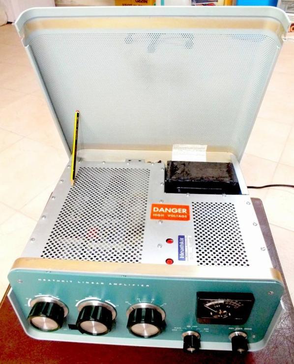 Heathkit SB201 HF linear amplifier