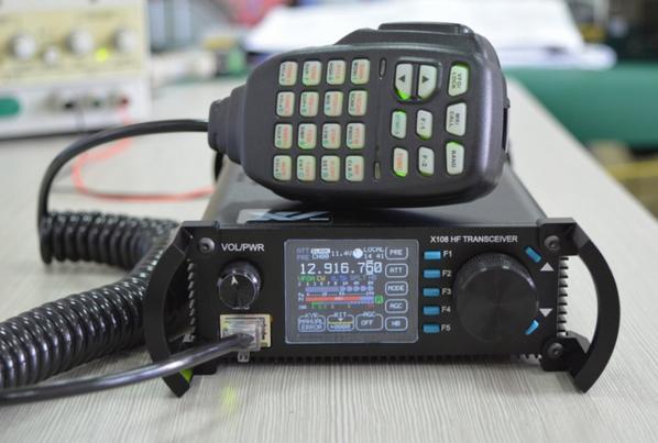 X108 Ricetrasmettitore HF QRP versione luxe