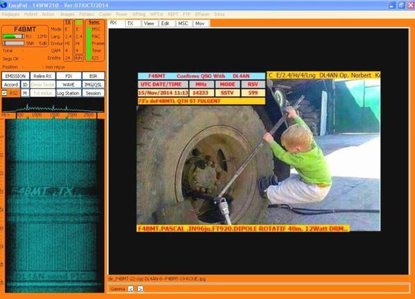 images du jour  EasyPal 14.233.00 USB le 15/11/2014