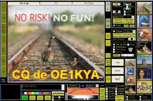 RX F-11874 de NICE VILLE SUR 14.230.00 Mhz USB images SSTV analogique Télévision à balayage lent