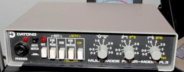 DATONG FL3 Filtre Audio