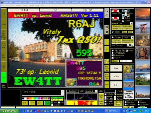 RX SUR 14.230.00 USB DE F-11874 OP.PATRICK QTH NICE VILLE