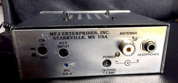 MFJ 9420 20m amateur radio transceiver QRP ham radio