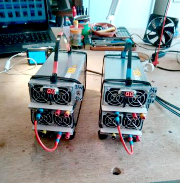 Alimentation 12 et 12/24 volts pour aéromodélisme...Alim en 12v et 12/24v sous 80 ampères, pour chargeurs d'accus modèles réduits, radioamateurs et tout appareils fonctionnant