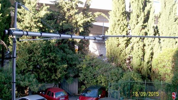 remaniée la concession de la Antenne de dipôle pour les 11m 26mhz 27mhz 28mhz  par 14V173 YANN de NICE