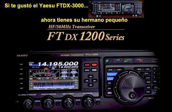 Yaesu.................................FT DX 1200