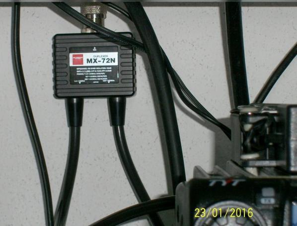 Arrivé du Diamond MX-72N duplexeur HF décamétrique+VHF /  UHF   TYT 9000D VHF  pofung BF-9500 UHF