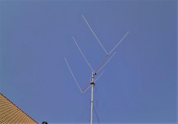 Delta Loop 3 éléments Antenne directive