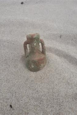 En mode plage, même si le temps est couvert. 6 photos.