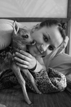 Bambie et Emilie.