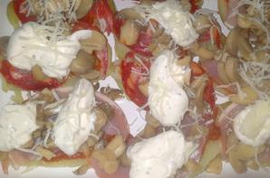 Pizza de pomme de terre (revisité)