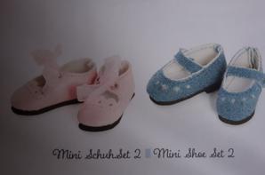 Les vêtements et les chaussures pour les minis Kidz'n Cats.