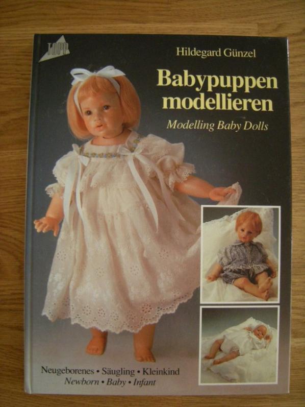 Babypuppen modellieren d' Hildegard Günzel.