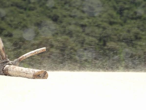 La dune du Pyla, son sable extra fin  et sa chaleur