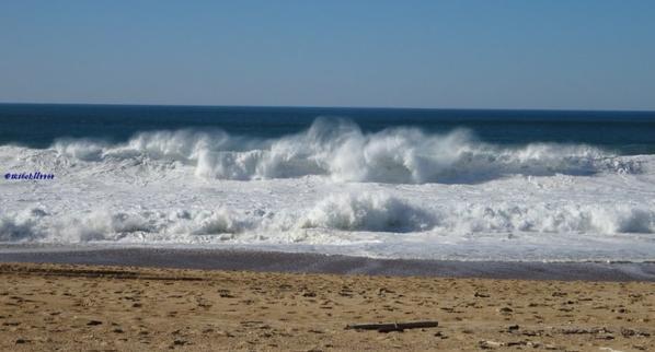 Quelques vagues du  weekend dernier