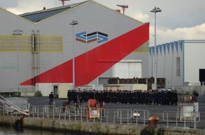 Ballade sur le port de St Nazaire,