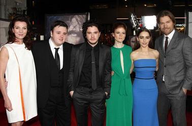 Les autres membres du cast au Grauman's Chinese Theater de Los Angeles