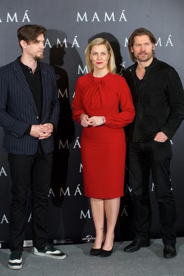 Nikolaj et Natalie Dormer, Mama, avant première saison 3