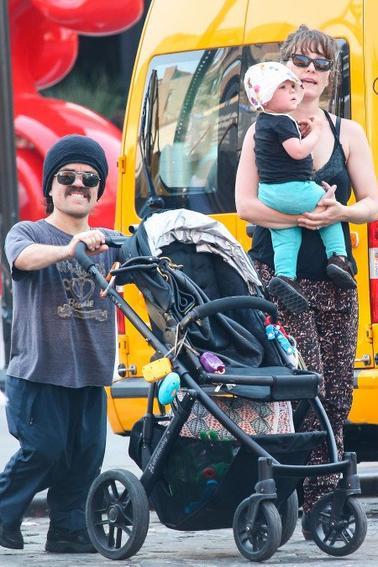 Lena et Peter inséparables, Peter en famille, tournage x men